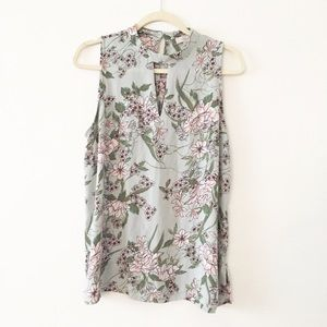 Loft Outlet sleeveless floral top